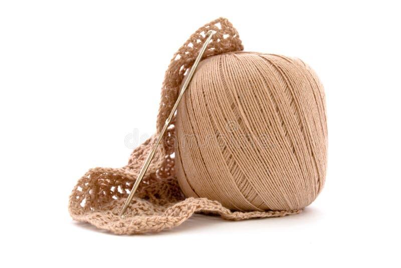Clew e crochet imagem de stock royalty free