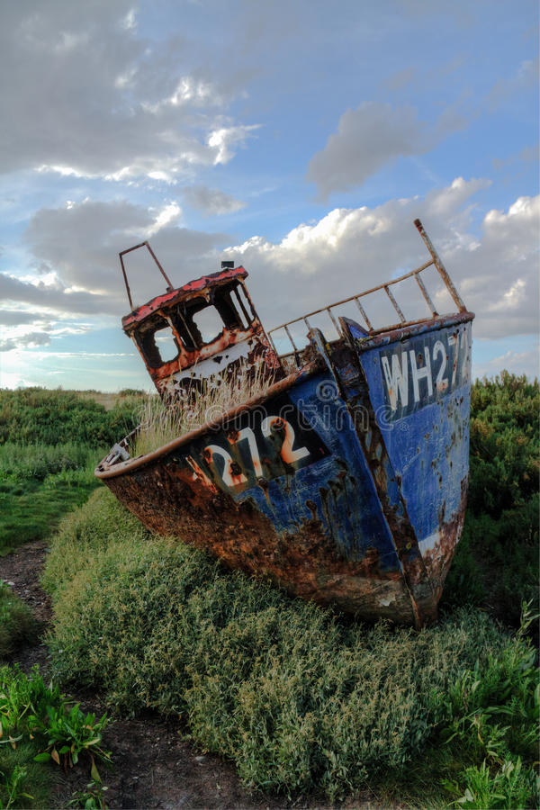 Cley Wreck #1 Royalty Free Stock Photo