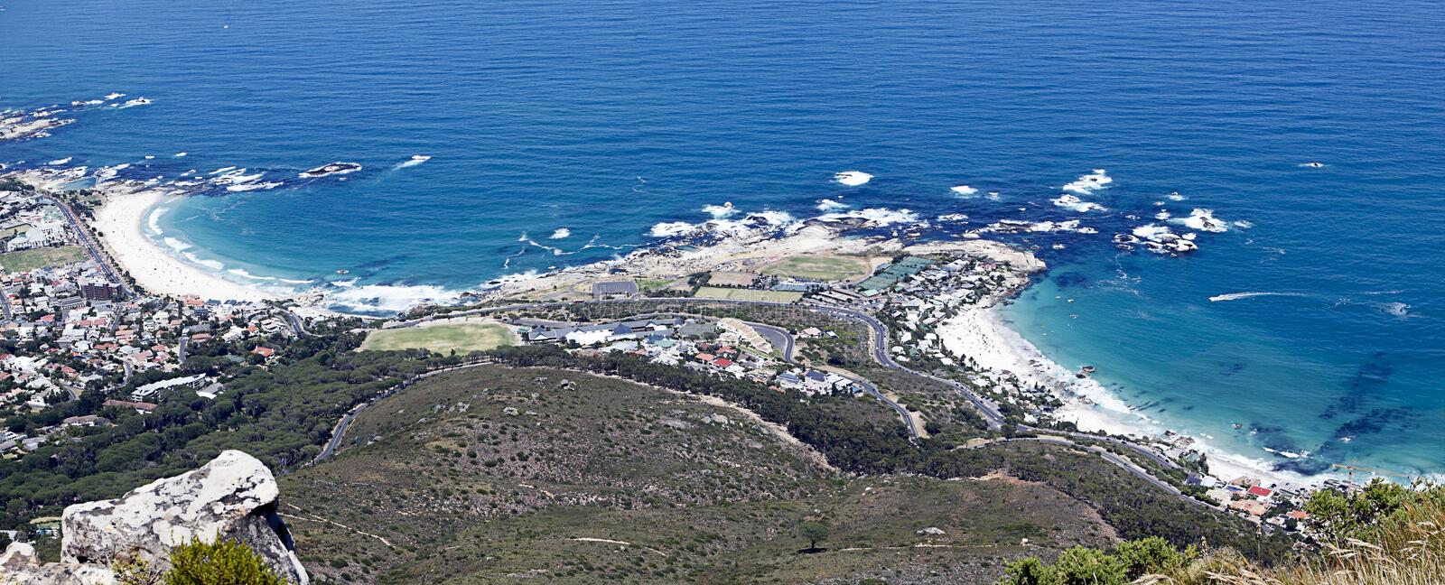 Download Clfiton and Camps bay stock image. Image of ocean, rock - 18587185
