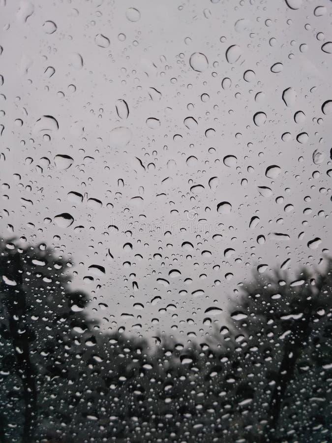 Clic pluvieux photographie stock libre de droits