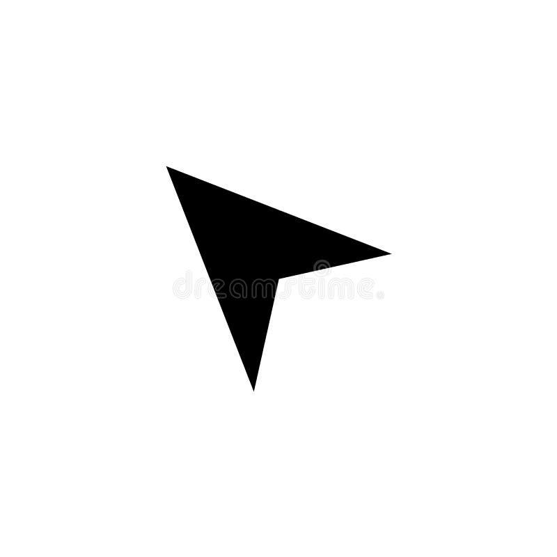 Click icon. Web arrow sign royalty free stock photos