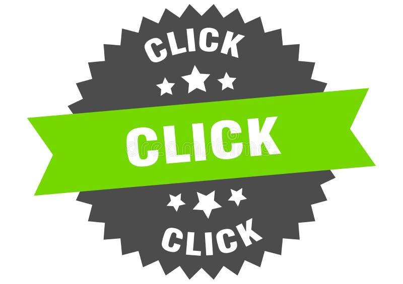 click royalty free illustration