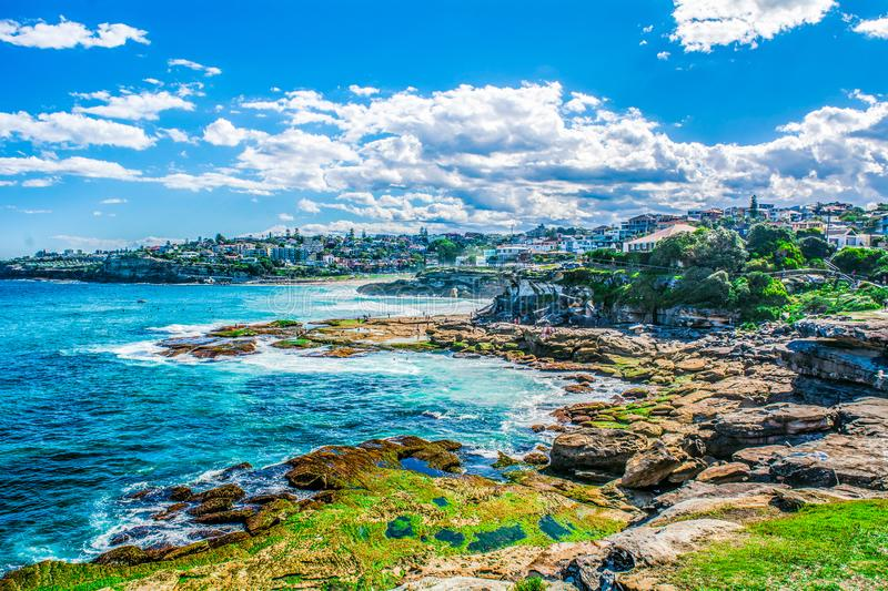 Heavenly Bondi Seascape royalty free stock images