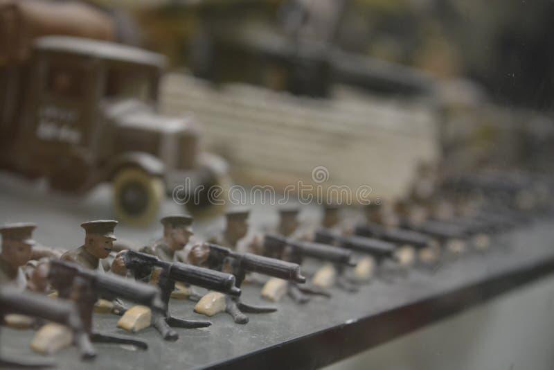 Army Toys royalty free stock photo
