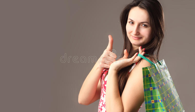 Client enthousiaste images stock