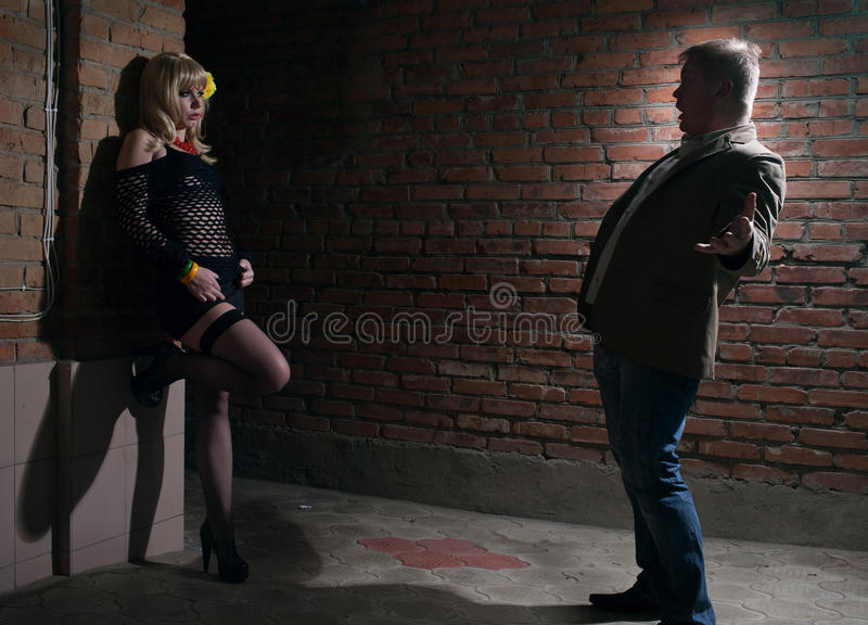 Download Client and prostitute stock image. Image of problems - 24545917