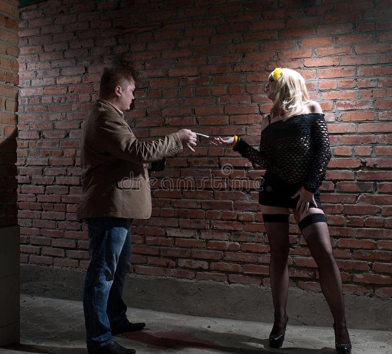 Download Client and prostitute stock photo. Image of dirty, girl - 24545934