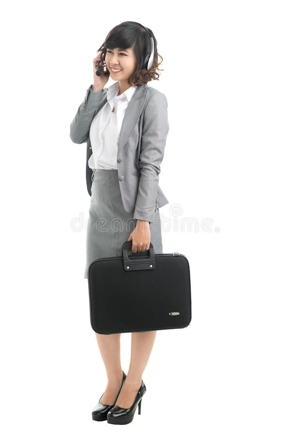 Download Client support stock image. Image of formalwear, length - 27261827