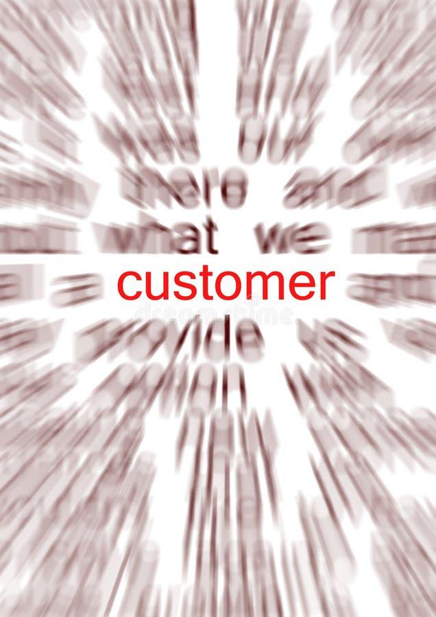 Cliente ilustración del vector
