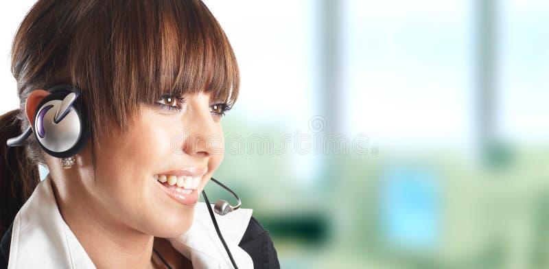 Cliente bonito Representat fotografia de stock royalty free