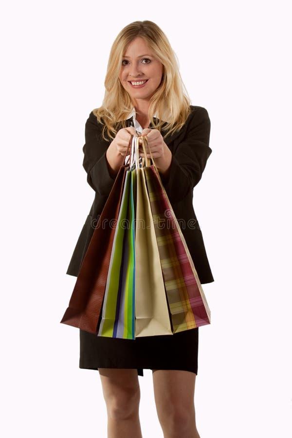 Cliente de femme image stock
