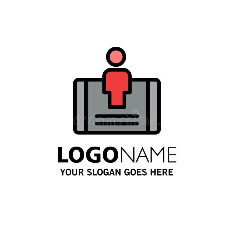 Cliente, impegno, cellulare, affare sociale Logo Template colore piano royalty illustrazione gratis
