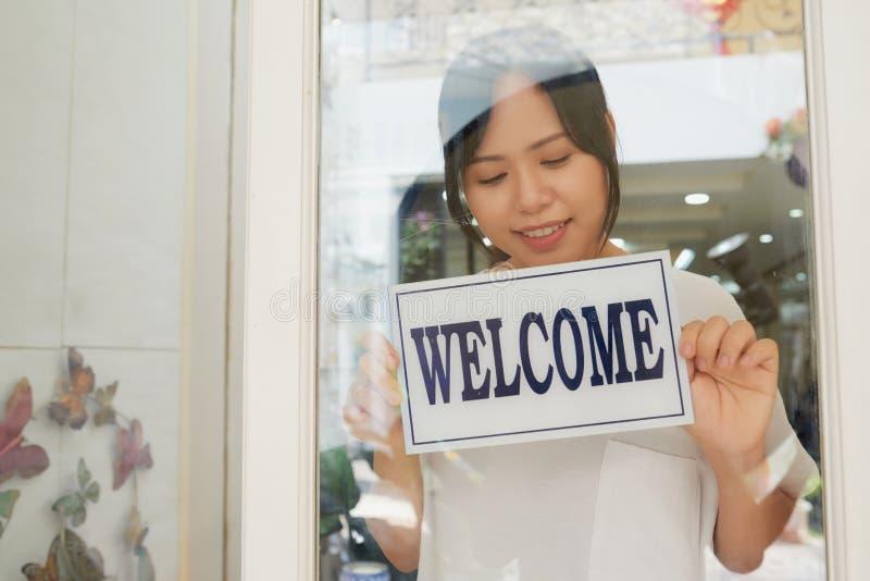 Clientes novos bem-vindos fotos de stock