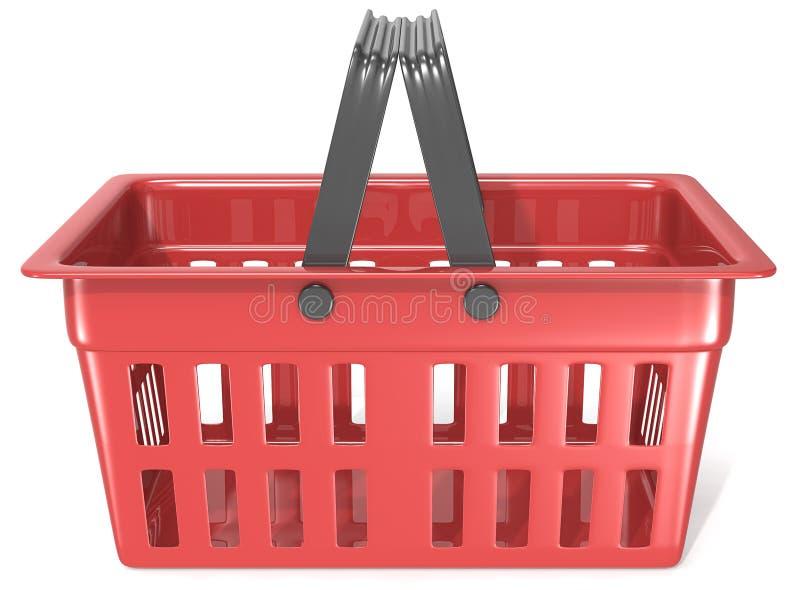 Clientes que hacen compras en el supermercado stock de ilustración