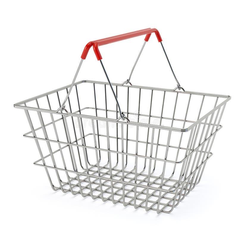 Clientes que hacen compras en el supermercado ilustración del vector