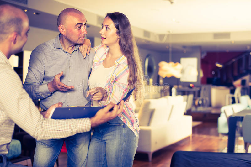 Clients are unpleasantly surprised by prices for furniture stock photos