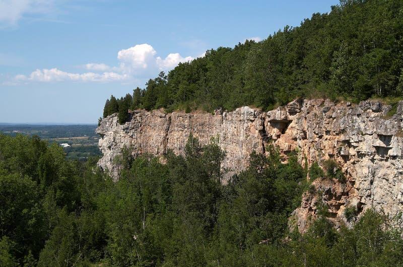 Cliff stock photo
