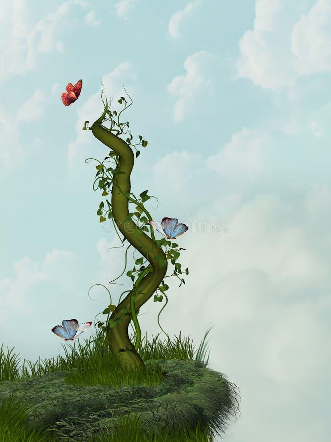 cliff ilustracji