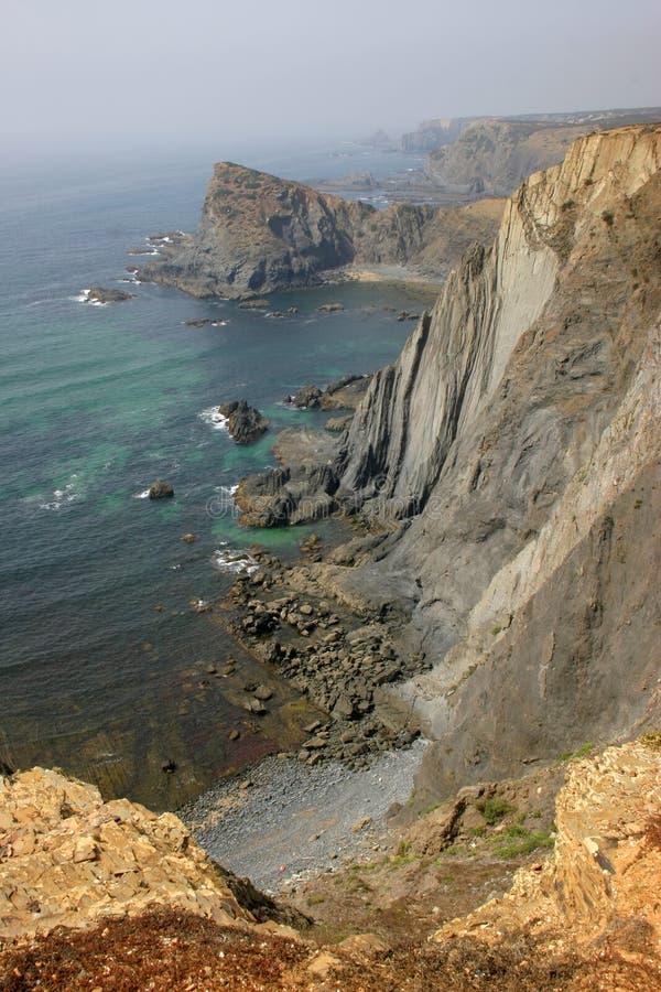 cliff. zdjęcie stock