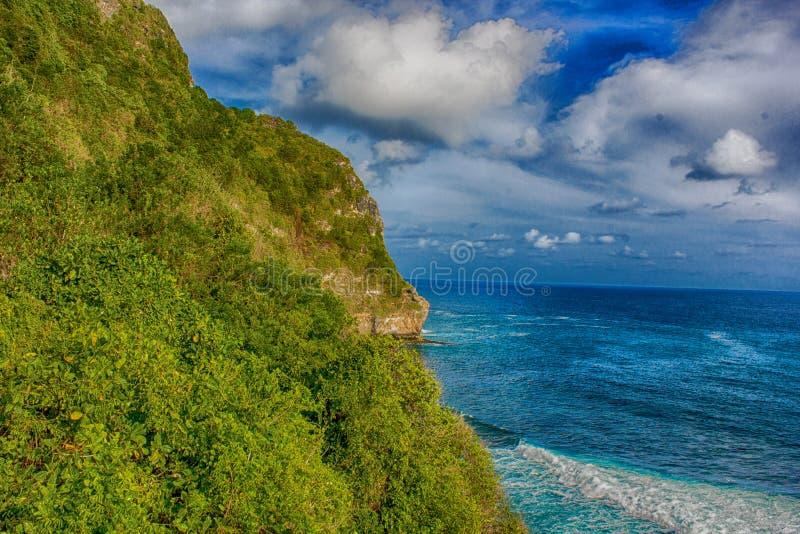 Cliff Beach stock afbeeldingen