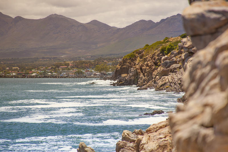 Download Cliff By The Coast Over The Sea Stock Photo - Image: 28819362