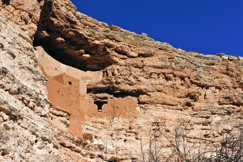 Download Cliff dwelling stock photo. Image of adobe, historic, cliffs - 8217924