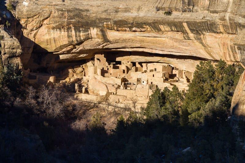 Cliff Dwelling em Mesa Verde NP imagem de stock