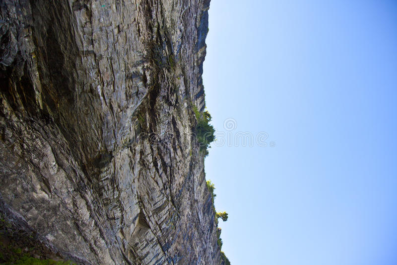 Cliff Face stock image