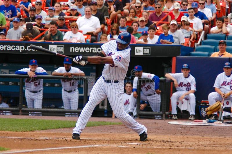 Cliff Floyd New York Mets royaltyfri fotografi