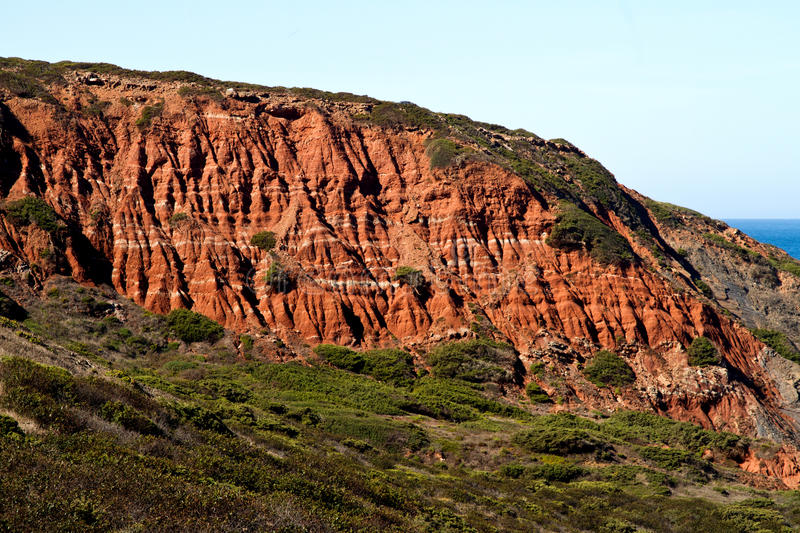 Download Cliff geologic formation stock photo. Image of algarve - 23596800