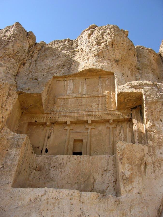 cliff grobowca zdjęcie royalty free