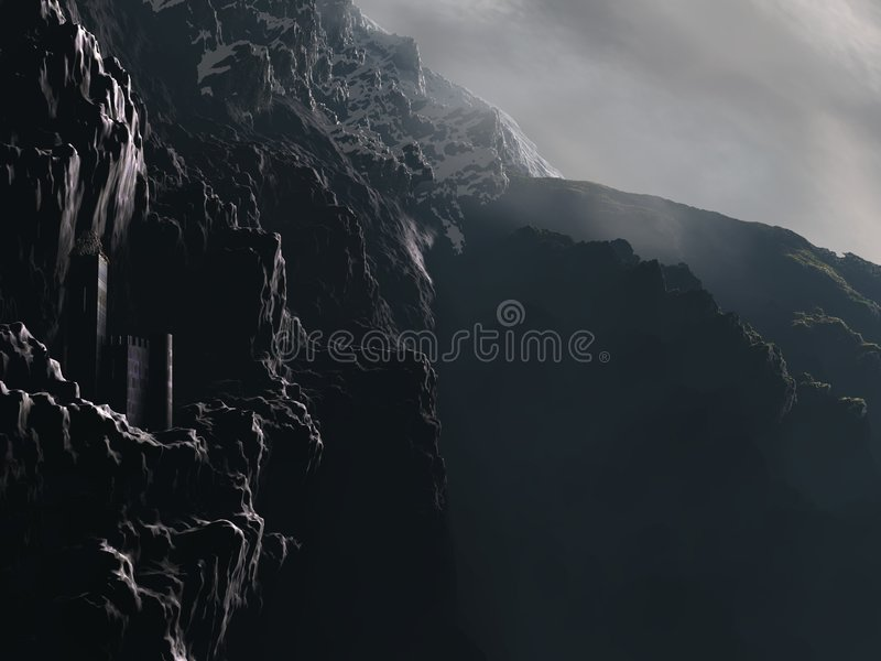 cliff grodowa fotografia royalty free
