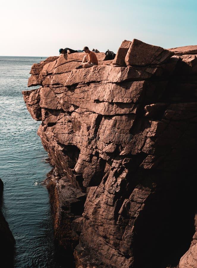 Cliff Hangers arkivbilder