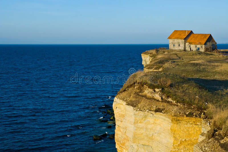 cliff house obrazy royalty free