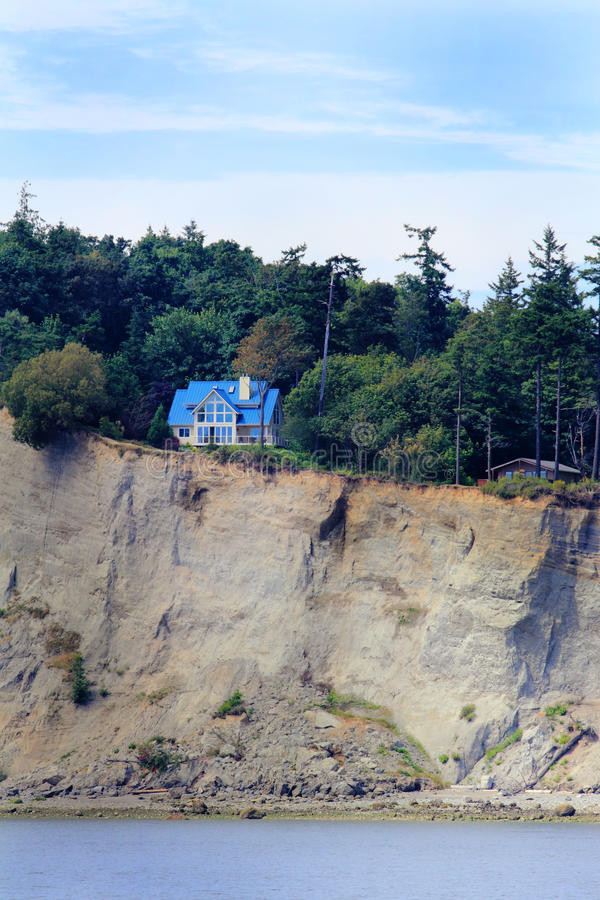 Cliff House Royalty Free Stock Image