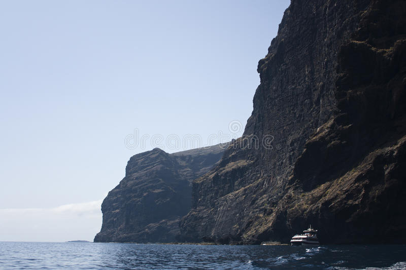 Download Cliff Of Los Gigantes, Tenerife, Canary Islands Stock Photo - Image of canary, seascape: 24408634