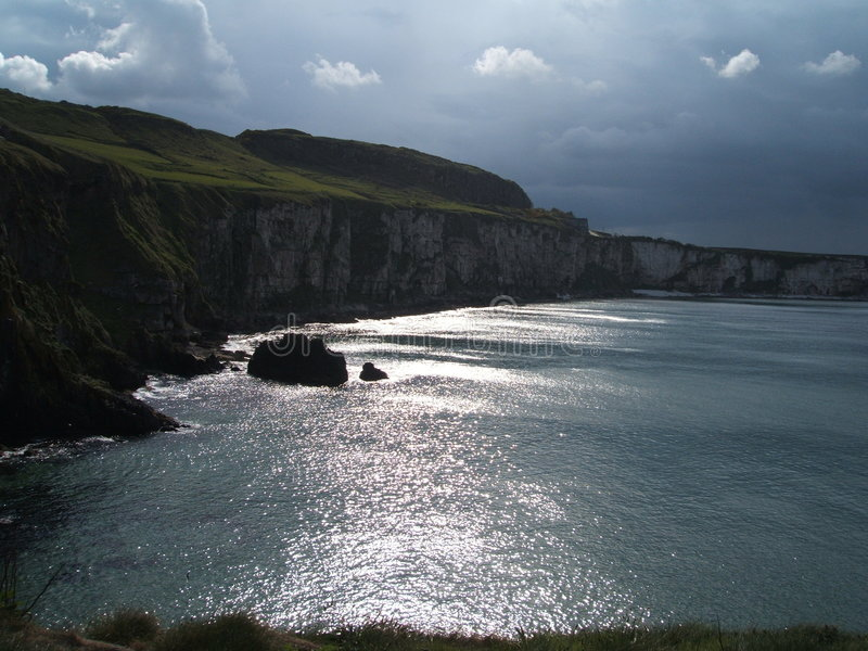 cliff morskie fotografia royalty free