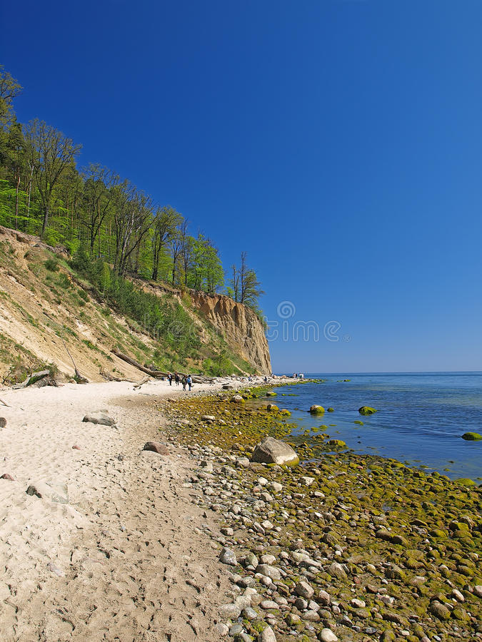 Cliff In Orlowo Royalty Free Stock Images