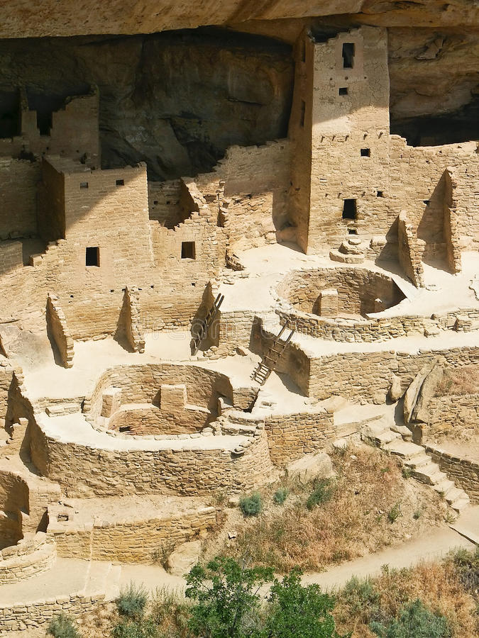Cliff Palace, Mesa Verde National Park, Colorado royalty free stock images