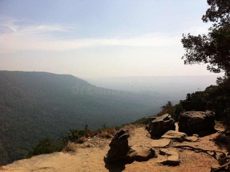 cliff samotna obrazy stock