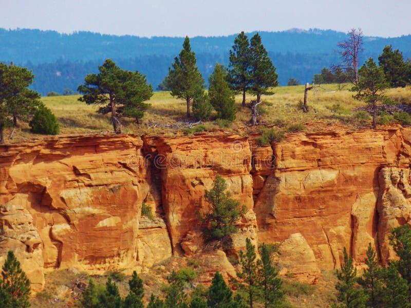 South Dakota Rock Formation Cliff royalty free stock photos
