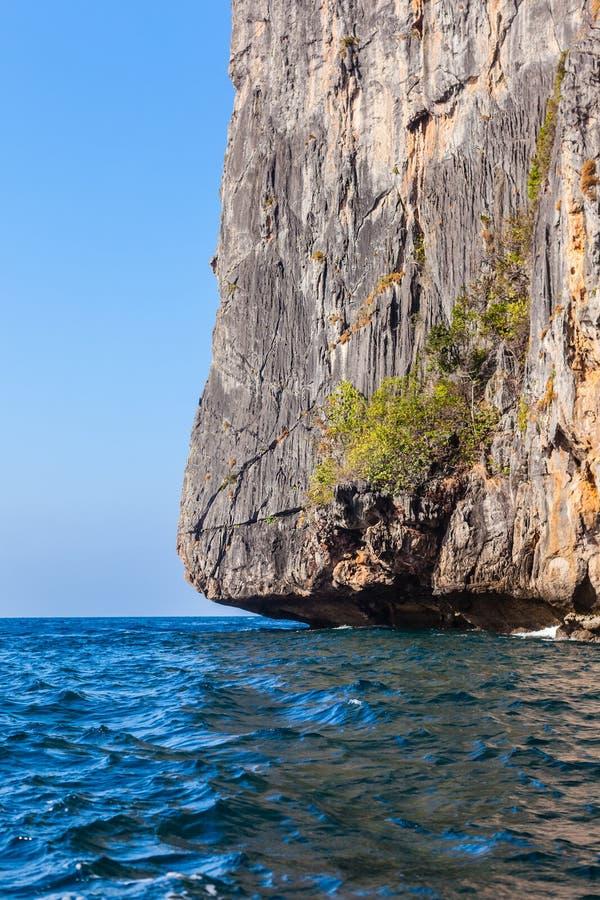 Download Cliff stroma obraz stock. Obraz złożonej z wybrzeże, wysoki - 53779371