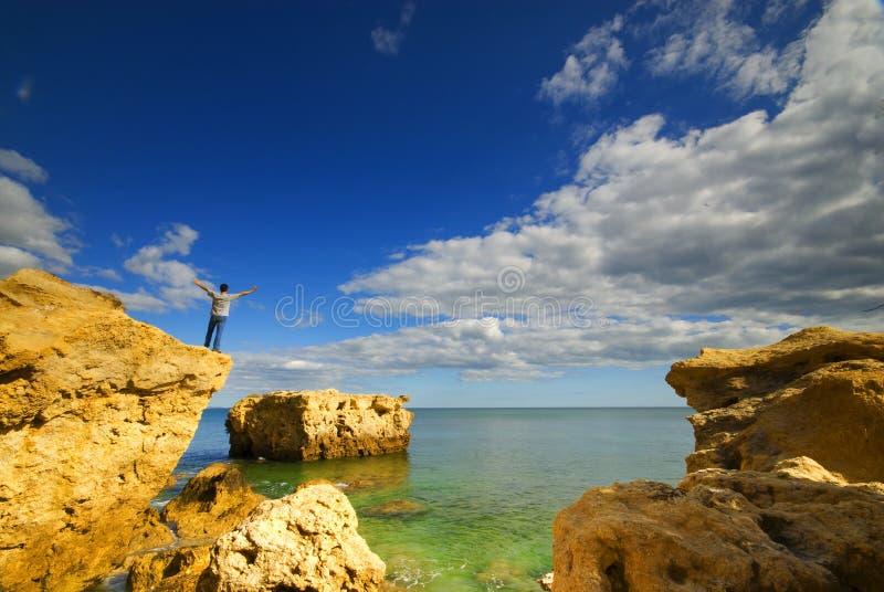 cliff top zdjęcie stock