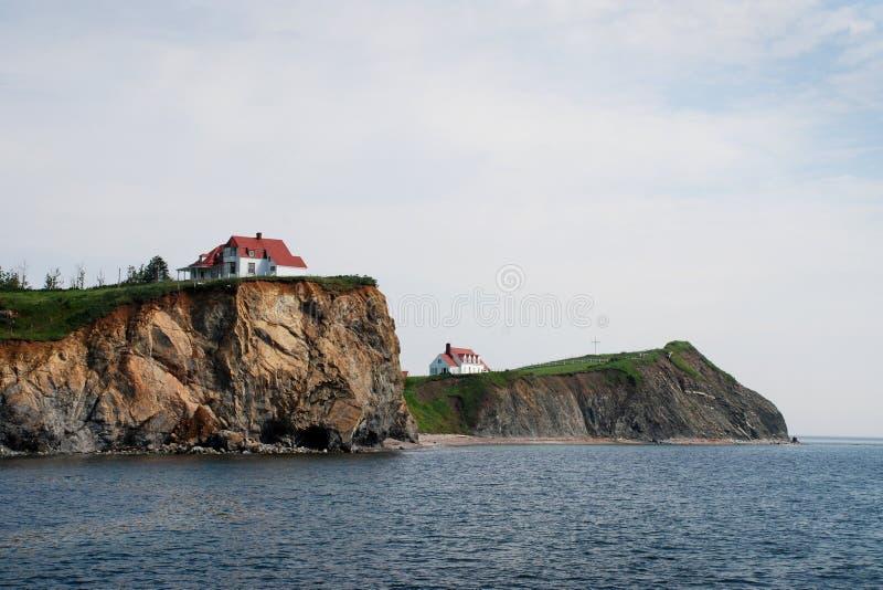 cliff w domu white fotografia stock