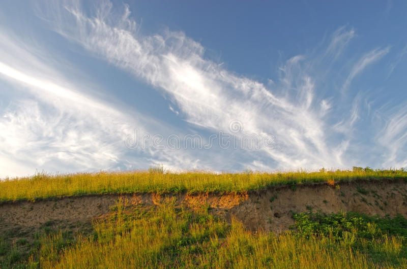 Download Cliff stock photo. Image of meadow, coast, fresh, landscape - 34009440