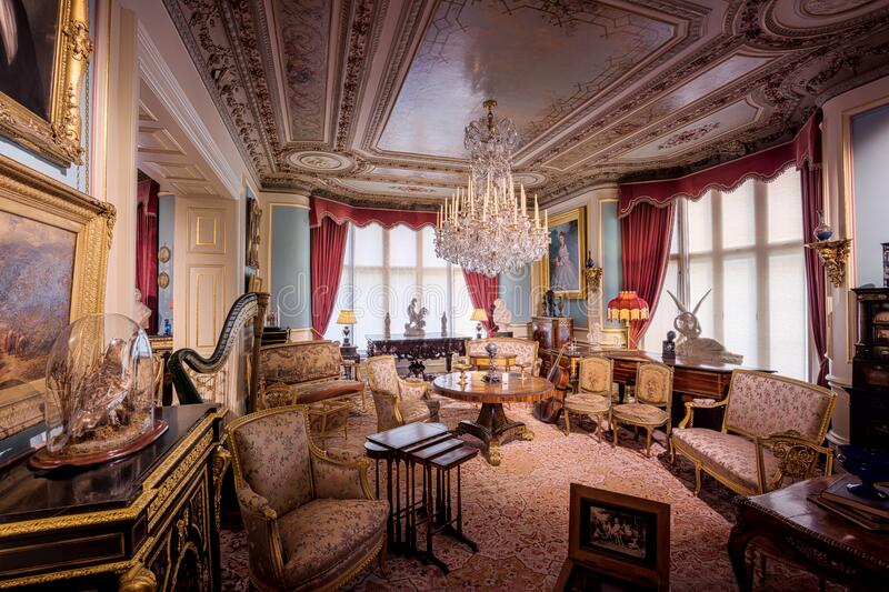Cliffe Castle Music Room Free Public Domain Cc0 Image