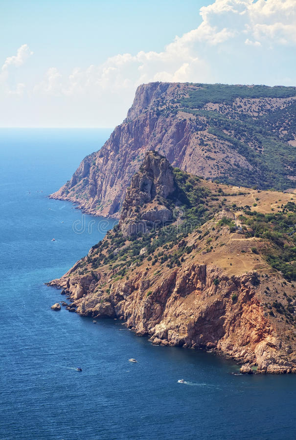 Cliffs On Balaklava Coastline Royalty Free Stock Image