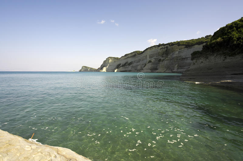 Download Cliffs At Cape Drastis, Corfu, Greece Stock Photo - Image: 11254298