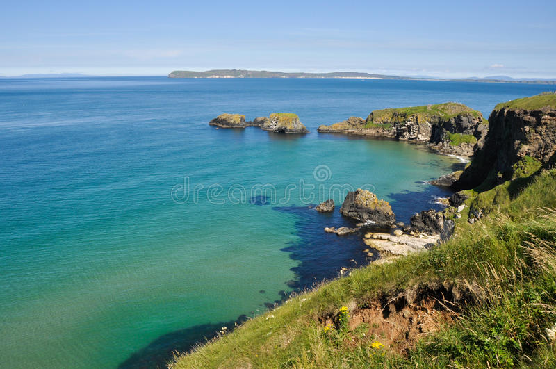 Download Cliffs At Carrick A Rede, Northern Ireland Stock Photo - Image: 26604130