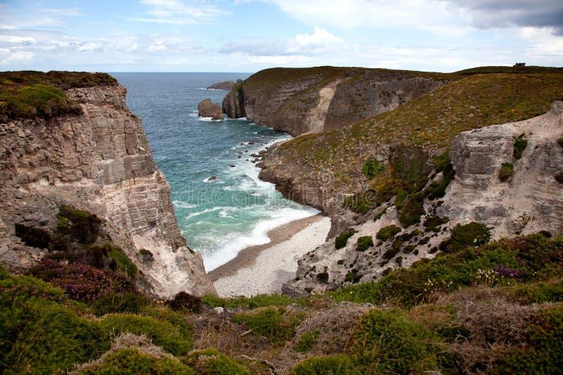 Download Cliffs And Coast At Cap Frehel Stock Photos - Image: 20639973